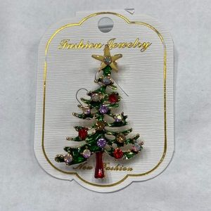 Christmas tree broach